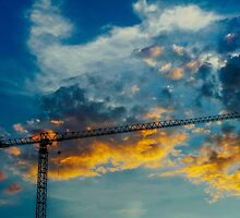 Construction Crane by Chee Sim