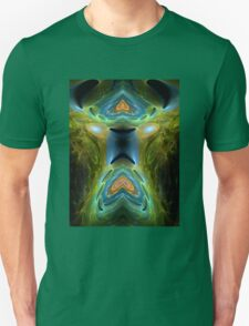 ©DA FS Face Off In Fractal 03V2AHDR. Unisex T-Shirt