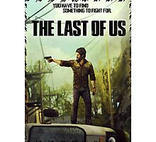 The Last of us Joel Photographic Print