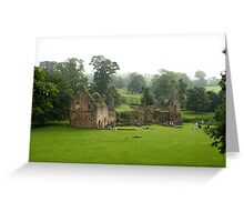 Fountains Abbey Estate - North Yorkshire Greeting Card
