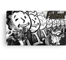 By Mutants for Mutants Canvas Print