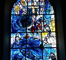 Chagall Window by Dave Godden