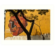 Urban Thinker - Never Imitation of Life Art Print