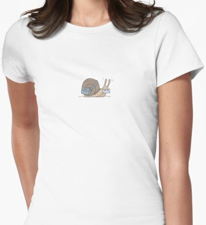 Snail Mail Womens Fitted T-Shirt