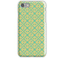 Yellow and Green Dots Pattern <3 iPhone Case/Skin
