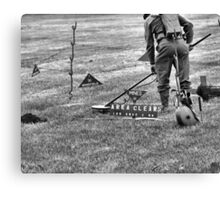 Mine Sweeping Canvas Print