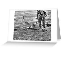 Mine Sweeping Greeting Card