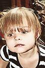 Little Girl Reflecting by Evita