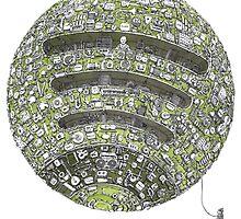 Spotify Planet by MountyBounty