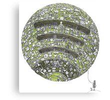 Spotify Planet Canvas Print