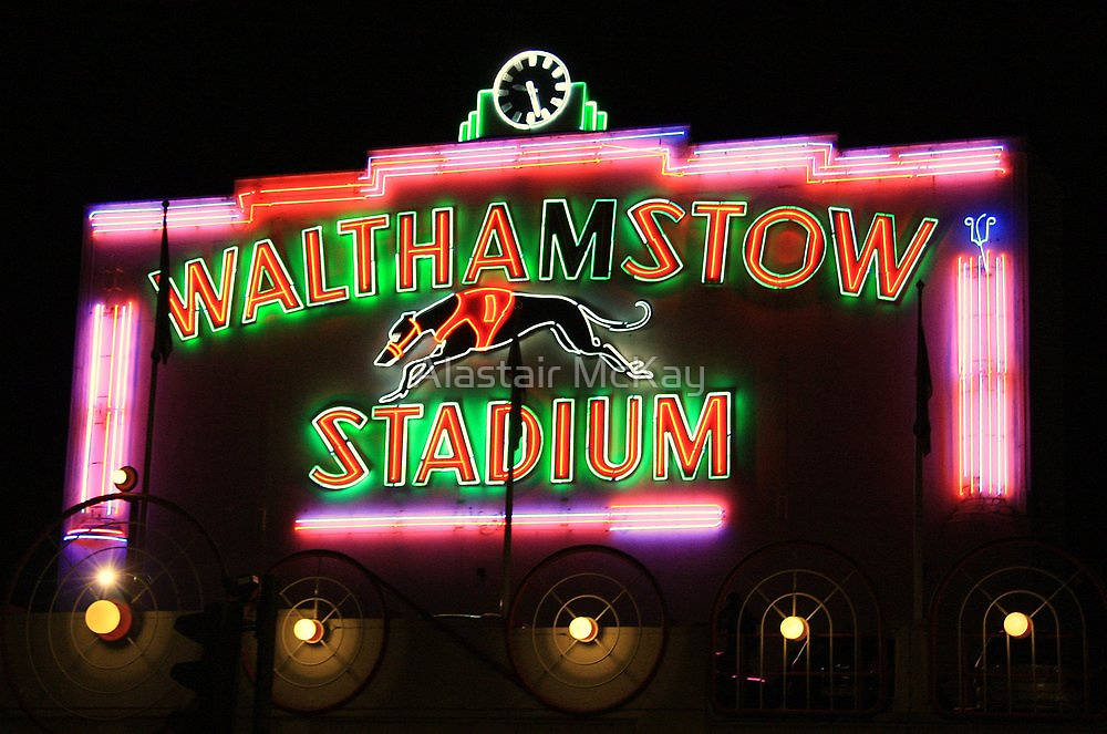 Walthamstow Dogs by Alastair McKay