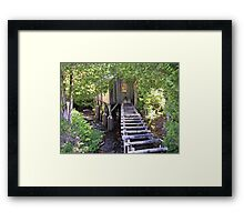 Historic Mill Creek Discovery Park Framed Print