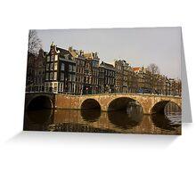 Amsterdam - Jordaan Neighborhood Greeting Card
