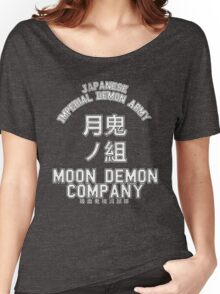 Moon Demon Company (White) Women's Relaxed Fit T-Shirt