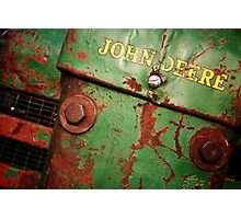 John Deere: Rusted  Photographic Print