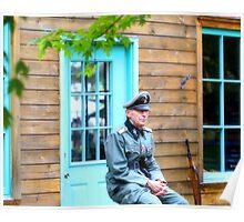 German Field Officer 2 Poster