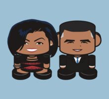 Obamas: Greater Together Politico'bot Toy Robots Kids Clothes