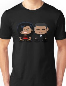 Obamas: Greater Together Politico'bot Toy Robots Unisex T-Shirt