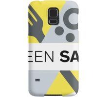 Screen Savor Podcast Logo Samsung Galaxy Case/Skin