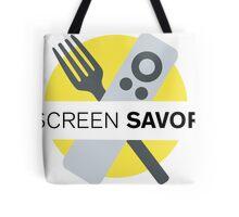 Screen Savor Podcast Logo Tote Bag