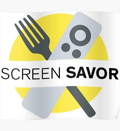 Screen Savor Podcast Logo Poster