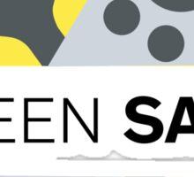 Screen Savor Podcast Logo Sticker