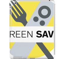 Screen Savor Podcast Logo iPad Case/Skin