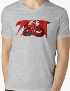 Slifer the Sky Dragon Mens V-Neck T-Shirt