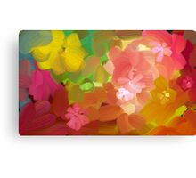 Happy colours Canvas Print
