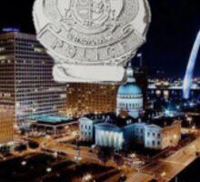St Louis Police Sticker