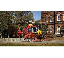 Air Ambulance Photographic Print