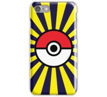 Pokeball Starburst iPhone Case/Skin