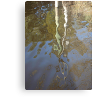 Post Reflection Metal Print