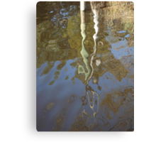 Post Reflection Canvas Print