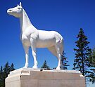 White Horse Statue by Kayleigh Walmsley