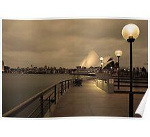 The Opera House, Sydney Australia Poster