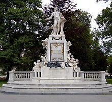Mozart. Vienna, Austria. 2009 by jwhimages
