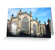 St Giles Cathedral, Edinburgh Greeting Card