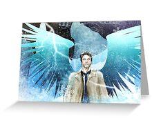 Frozen Castiel Greeting Card