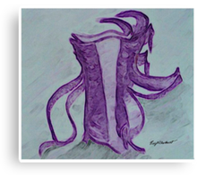 Kitaro's Silk Robe (based on his Silk Road) Canvas Print