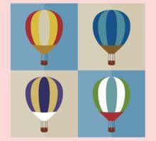 hot air balloon One Piece - Short Sleeve
