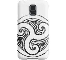 Skyrim Distressed Morthal Logo - B&W Samsung Galaxy Case/Skin