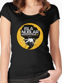 Isla Nublar Research Team Women's Fitted Scoop T-Shirt