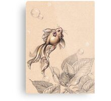 Flying FancyTail Mermouse Metal Print