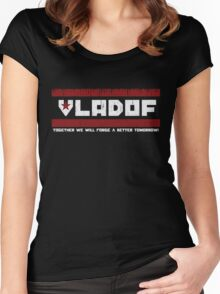 VLADOF Women's Fitted Scoop T-Shirt
