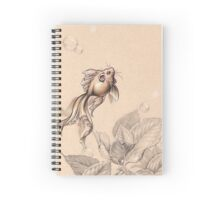 Flying FancyTail Mermouse Spiral Notebook