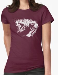 Alone In The Dark Womens Fitted T-Shirt