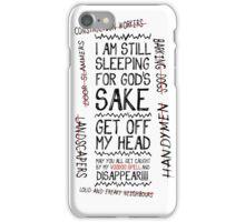 Morning spells iPhone Case/Skin