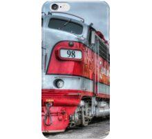 Red Engine iPhone Case/Skin