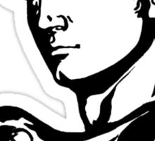 David Profile 2 Sticker